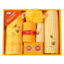 内野 UCHINO 小蜜蜂7件毛巾礼盒 R20450