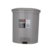 得力 deli 圆形脚踏清洁桶/垃圾桶 959 直径22cm  12个/箱