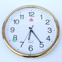 上海555 挂钟教室办公简约个性创意时尚挂钟 36*36cm (银色)
