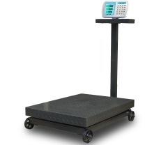 英衡 带轮电子磅秤 1000kg 台面60*80