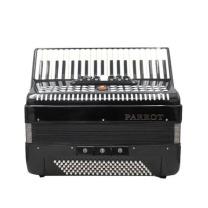 鹦鹉 YINGWU 120贝斯三排簧手风琴 YW-827 (黑色)