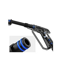 沿途 洗车水枪 PVC水管软管喷头 高压喷头冲洗水枪 20米 Q01