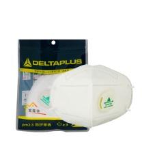 代尔塔 DEITAPLUS PM2.5带阀防尘口罩 104012 3只/包 (耳带式家庭装 )
