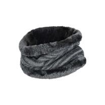 卡蒙 针织围巾男冬季韩版百搭围脖简约年轻人毛线脖套骑车加厚保暖