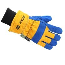 霍尼韦尔 honeywell North Polar 皮质手掌手套 70/6465NK 尺码:均码 (防寒 黄色手背 防水衬里 罗口安全袖)