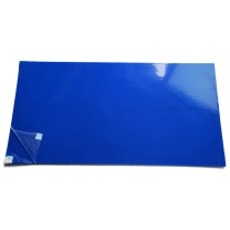 安赛瑞 防静电粘尘垫 12224 65×115cm  30片/本,10本/盒