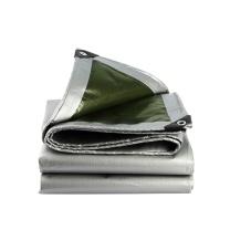 安赛瑞 订制加厚防雨布(4m²起订) 12444 PE聚乙烯 厚0.35mm 重180g/m² (银白)
