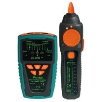 宝工 Pro'skit 音频网络寻线仪PoE寻线器抗干扰型(附电池) MT-7029-C