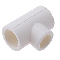 伟星 VASEN 六分变四分三通管件 PPR25*20 (白色)