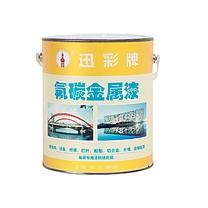 迅彩 户外防腐氟碳面漆 1公斤(0.8kg主漆+0.2kg固化剂)