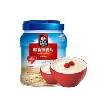 桂格(Quaker)早餐谷物 膳食纤维 即食燕麦片 1000克 罐装