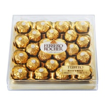 费列罗榛果威化巧克力钻石装 24粒/盒  4盒/箱