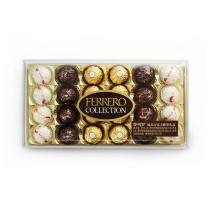 费列罗臻品巧克力糖果礼盒 24粒/盒 4盒/箱