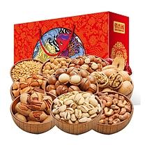 俏香阁 每日坚果 炒货礼盒 1761g (红色)