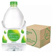 屈臣氏 watsons 蒸馏水 4.5L/瓶 4瓶/箱 (大包装)(绿色包装)