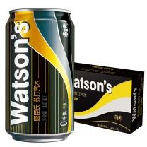 屈臣氏 watsons 苏打汽水 330ml/罐 24罐/箱 (大包装)