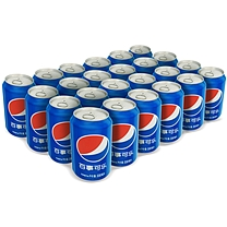 百事 可乐 330ml/罐 24罐/箱 (大包装)