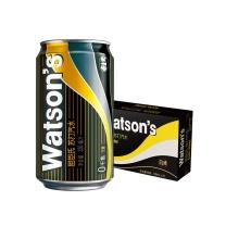 屈臣氏(Watsons)苏打汽水330ml*24罐 整箱装 苏打水汽水饮料