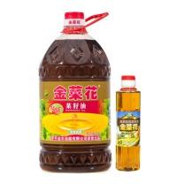 罗平 菜籽油 5L 非转基因植物食用油农家菜籽物理压榨香油粮油