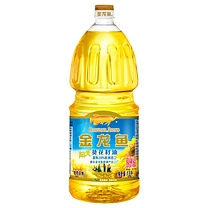 金龙鱼 阳光葵花籽油 1.8L 24瓶起订(非转基因6桶/箱)