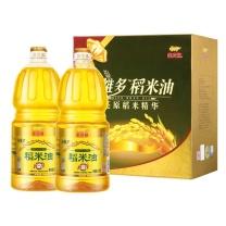 金龙鱼 谷维多稻米油 1.8L*2  (非转基因3盒/箱)