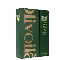 欧丽薇兰 特级初榨橄榄油 750ML*2  精装礼盒(非转基因6桶/箱)