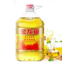 金龙鱼 浓香食用植物调和油 5L