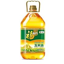 福临门 黄金产地 玉米油 5L/桶  (非转基因)
