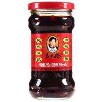 陶华碧 老干妈风味豆豉油辣椒 280g  280g*24瓶 (一箱起订)