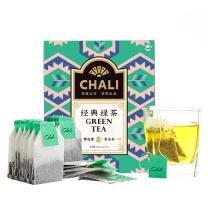 茶里 盒装滤纸包原味绿茶 2g/包 100包/盒 30盒/箱