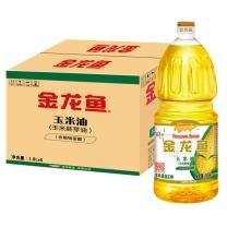 金龙鱼玉米油 1.8L/桶 6桶/箱 起订量20箱(非转基因)