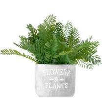 国产 假草盆栽摆件 仿真花客厅插花塑料 假花室内茶几摆设装饰 仿真植物 90CM