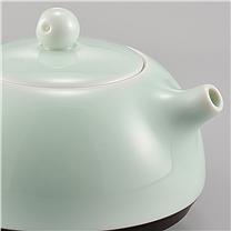 古婺窑火 定制茶具套装 一壶二杯+茶盘(DZ) 春壶茶盘系列 C038 (邮储用)100套起订