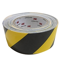 sign-expert 展示胶带 100mm*30m 高强度耐碾压PET材料 (黑黄)