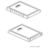 国产 定制档案盒无酸纸,一色印刷,带松紧绳(DZ) 310*220*40mm  (大唐链接)1000个起订