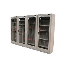 华泰 普通安全工具柜 2200*1100*600*1.2mm  智能除湿配电室用工器具柜冷钢柜消防柜子 普通智能型加脚轮