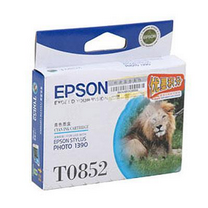 爱普生 EPSON 墨盒 T0852 C13T122280 (青色)