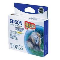 爱普生 EPSON 墨盒 T0855 C13T122580 (淡青色)