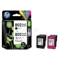 惠普 HP 小容量墨盒套装 CR312AA 802s (黑+彩)