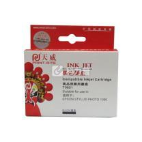 天威 PRINT-RITE 墨盒 EPSON-T0851 IFE702BPRJ1 (黑色)