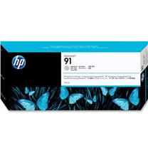 惠普 HP 大幅面绘图仪墨盒 C9466A 91号 775ml (浅灰色)
