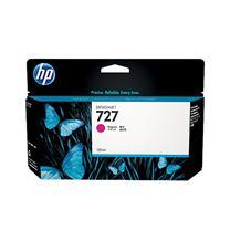惠普 HP 大幅面绘图仪墨盒 B3P20A 727号 130ml (品红色)