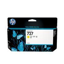惠普 HP 大幅面绘图仪墨盒 B3P21A 727号 130ml (黄色)