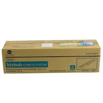 柯尼卡美能达 KONICA MINOLTA 碳粉盒 A0V30GP 1.5K (青色) 适用于bizhub C15P/C17/C18
