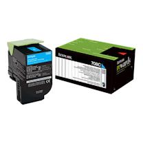 利盟 LEXMARK 碳粉盒 70C80C0 (青色)
