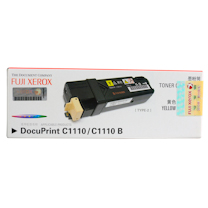 富士施乐 FUJI XEROX 墨粉 CT201121 (黄色) 适用于C1110