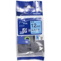 兄弟 brother 标签机色带 TZe-531/TZe-Z531 12mm (蓝底/黑字) 新老包装更换中