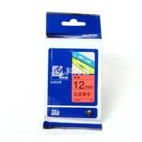 兄弟 brother 标签机色带 TZe-431/TZe-Z431 12mm (红底/黑字) 新老包装更换中