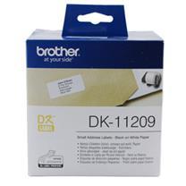 兄弟 brother 标签机色带 DK-11201 29mm*90mm纸质400张 (白底/黑字)