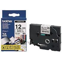 兄弟 brother 标签机色带 TZe-131/TZe-Z131 12mm (透明底/黑字) 新老包装更换中